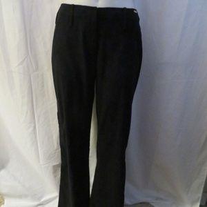 ST. JOHN SPORT BLACK STRAIGHT LEG PANTS W/ ZIPS 8